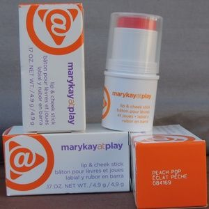 Mary Kay @ Play Lip & Cheek Stick- Peach Pop